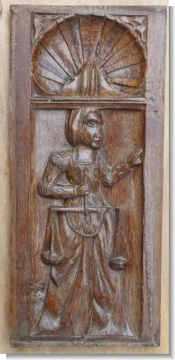 JUSTICE, late 16th Century French Panel