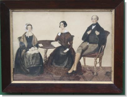 FAMILY GROUP, c.1830