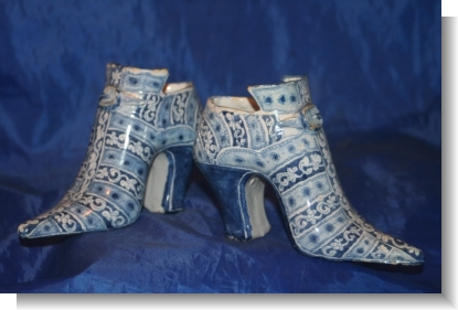 Pr.ENGLISH DELFT SHOES.