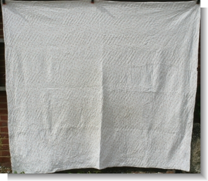 Large Double ENGLISH QUILT
