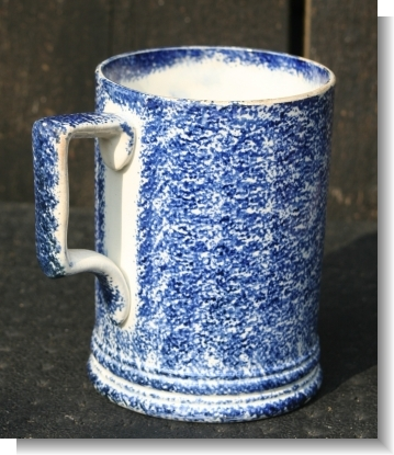 GREAT SPONGEWARE / SPLATTER WARE JUG