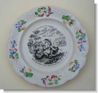 CHILDS PLATE for the GERMAN MARKET