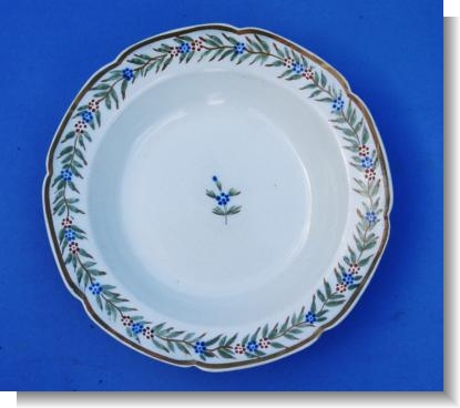 WEDGWOOD & cO sOUP PLATE