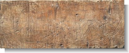 15th Century MEDIEVAL GRAFFITI x 2