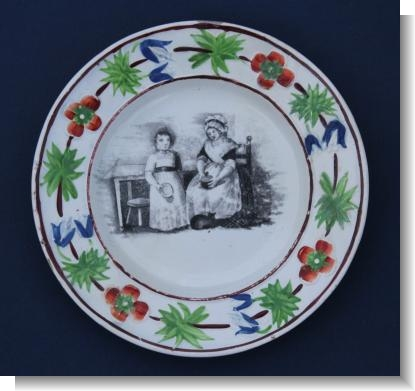 Early Childs Plate