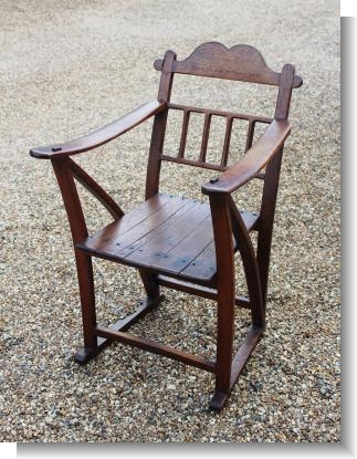 P of W CHAIR from St HELENA 1901