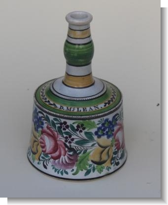 PEARLWARE MALLET DECANTER / WHISKEY BOTTLE Scottish