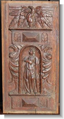 EARLY 17th CENTURY FRENCH PANEL