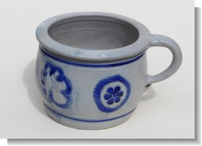 17th Century GERMAN WESTERWALD CHAMBER POT with HISTORY.