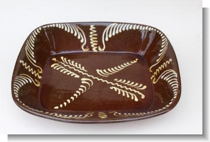 LARGE BAKING DISH, Prov.Mary Wondraush (OBE) Collection