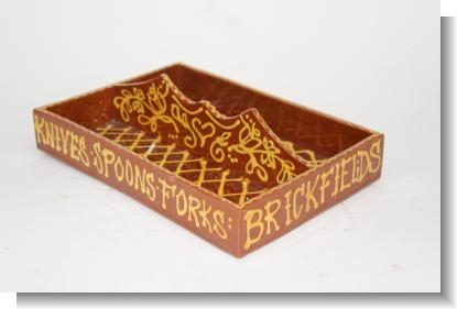 MARY WONDRAUSCH CUTLERY TRAY BRICKFIELDS COMPTON.