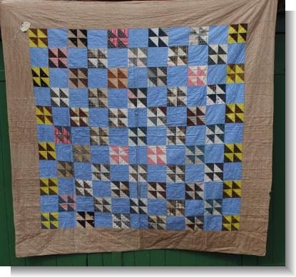 QAMERICAN QUILT with lable of ownership