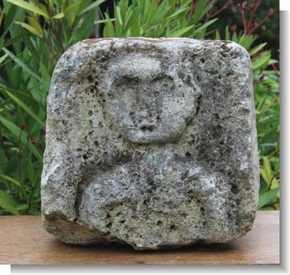 ROMO BRITISH LIMESTONE CARVED