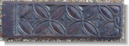 FRENCH 16th Century gothic panel