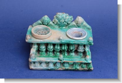 INTERESTTING late 18th Cent. GERMAN / SPANISH INKWELL