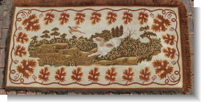 VERY RARE 19th CENTURY ENGLISH RUG