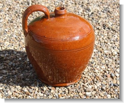 CLASSIC 19th Century SUSSEX FLAGON