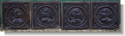 SET of 15th Century FRANCO SCOTTISH ROMAYNE PANELS