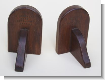 RARE PAIR OF BOOK ENDS