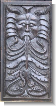 LATE 16th Century GREEN MAN