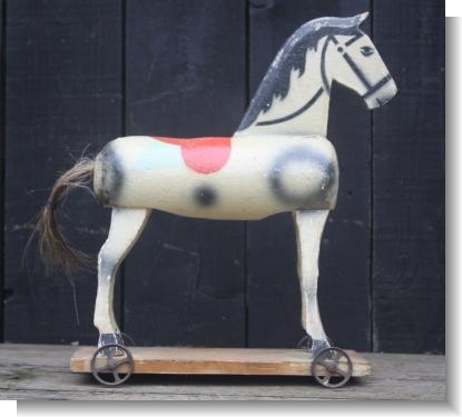 GREAT ENGLISH TOY HORSE