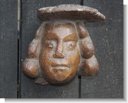 LARGE TUDOR PERIOD HEAD